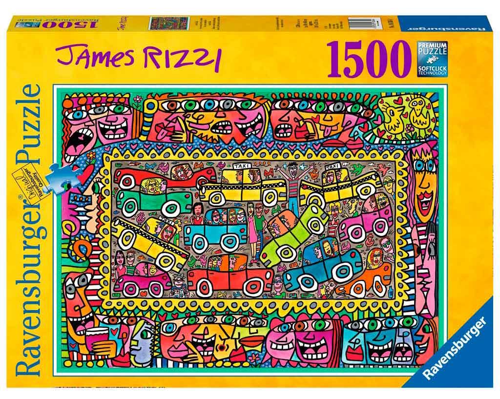 Puzzle Ravensburger De Camino a Vuestra Fiesta, 1500 Piezas