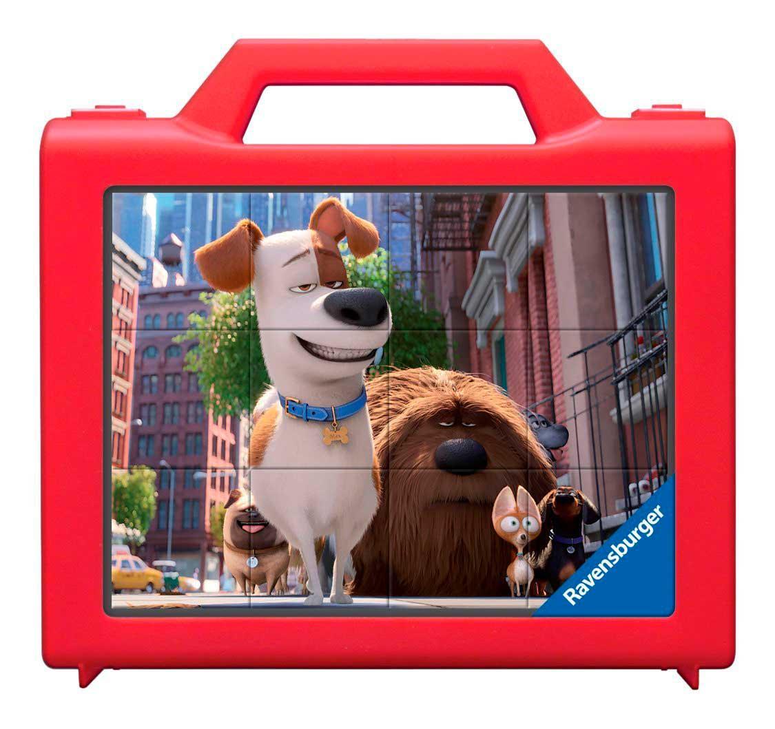 Puzzle Ravensburger de Cubos Mascotas de 12 Piezas
