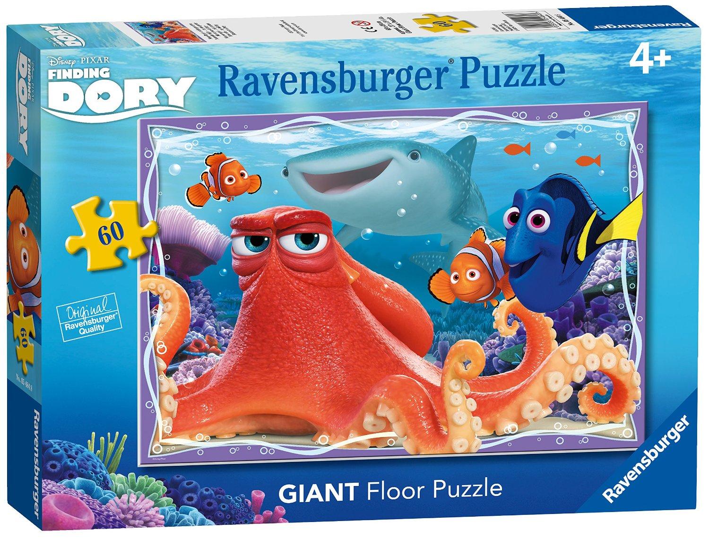 Puzzle Ravensburger de Suelo Buscando a Dory de 60 Piezas