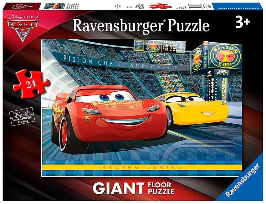 Puzzle Ravensburger Cars 3 de Suelo de 24 Piezas