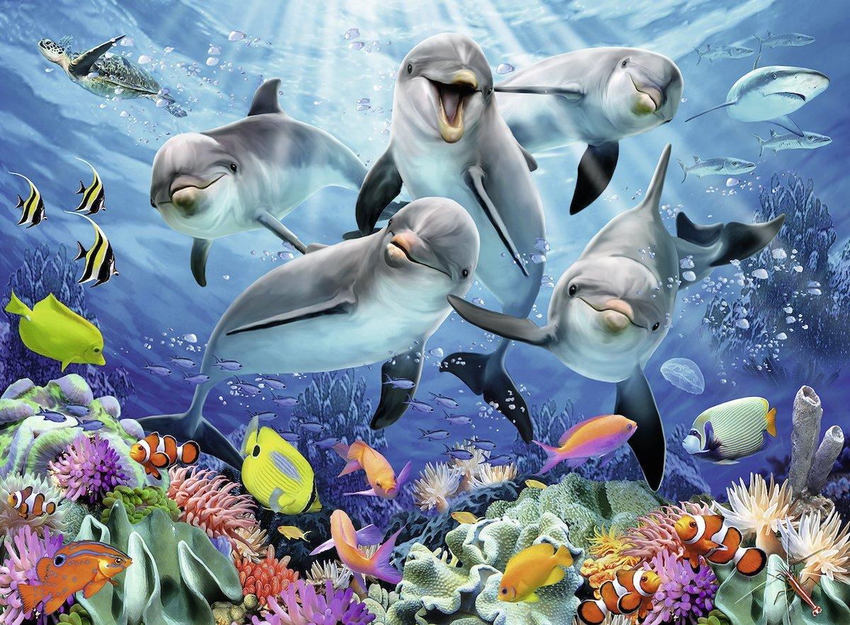Puzzle Ravensburger Delfines 500 Piezas