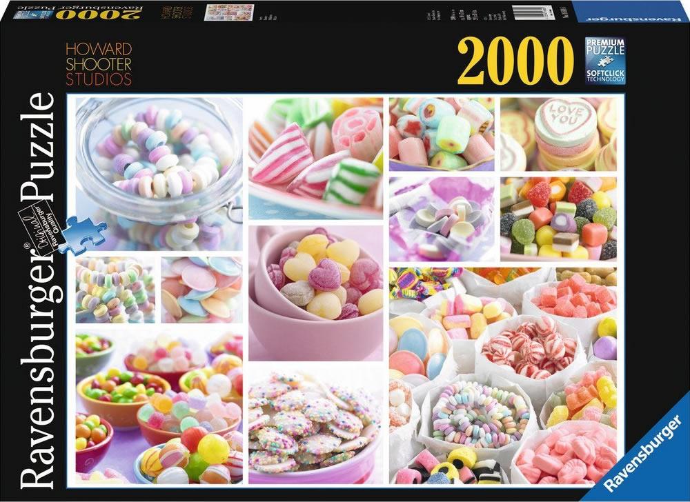 Puzzle Ravensburger  Delicias de Caramelos de 2000 Piezas