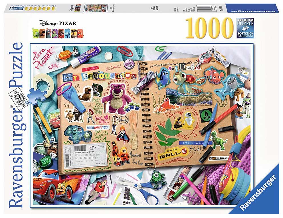 Puzzle Ravensburger Disney Pixar, Albúm de Recortes 1000 Piezas