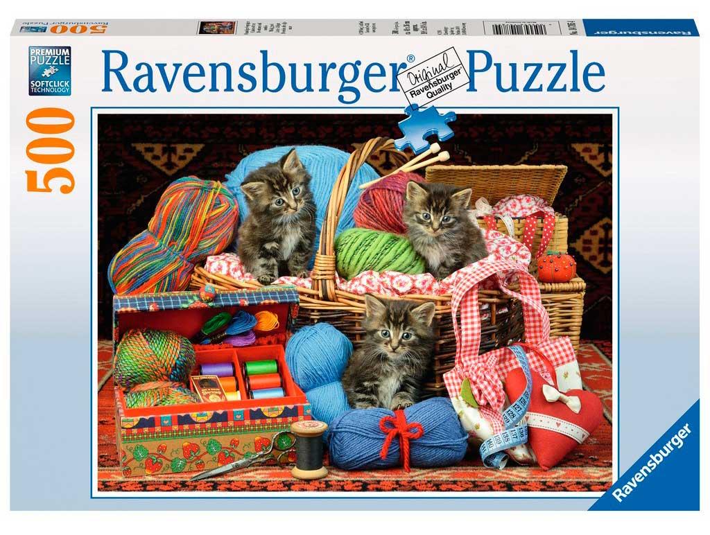 Puzzle Ravensburger Diversión sobre Algo Suave 500 Piezas