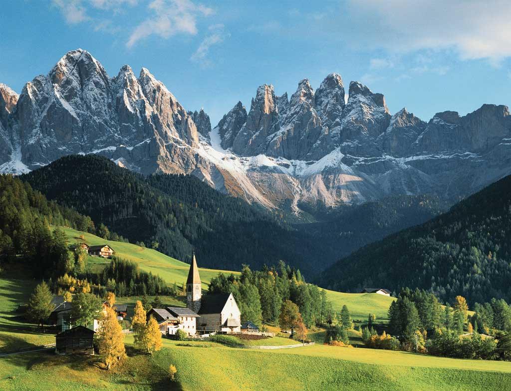 Puzzle Ravensburger Dolomitas, Italia de 2000 Piezas