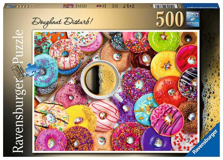 Puzzle Ravensburger Donuts de Colores de 500 Piezas