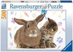 Puzzle Ravensburger Dos Amigos de 500 Piezas