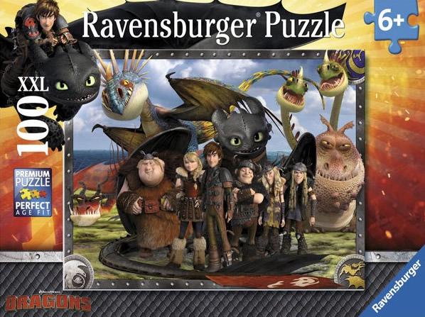 Puzzle Ravensburger Dragones 100 Piezas de 100 Piezas