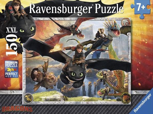 Puzzle Ravensburger Dragones 150 Piezas de 150 Piezas