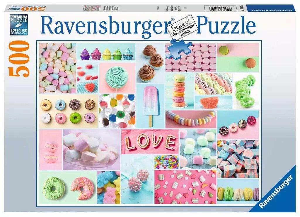 Puzzle Ravensburger Dulce Amor de 500 Piezas