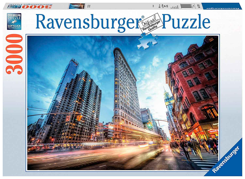 Puzzle Ravensburger Edificio Flatiron de 3000 Piezas