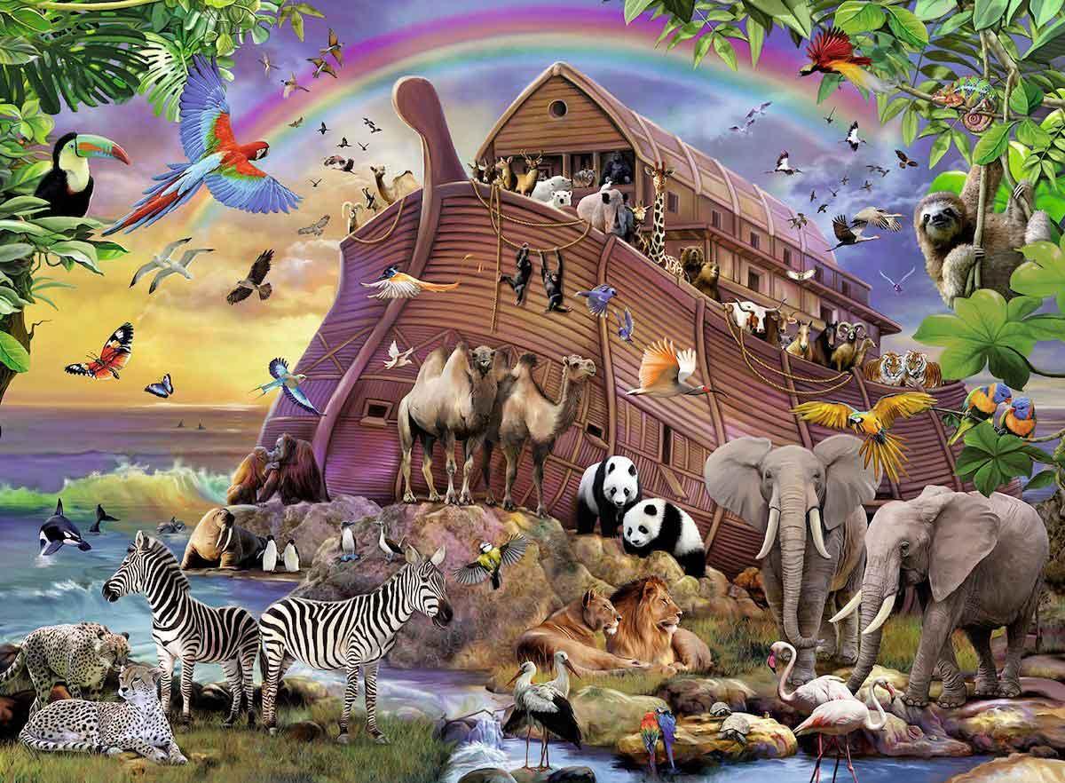 Puzzle Ravensburger El Arca de Noé XXL de 150 Piezas