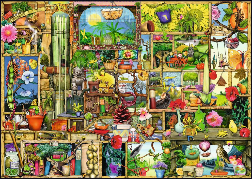 Puzzle Ravensburger El Armario de los Jardineros de 1000 Piezas