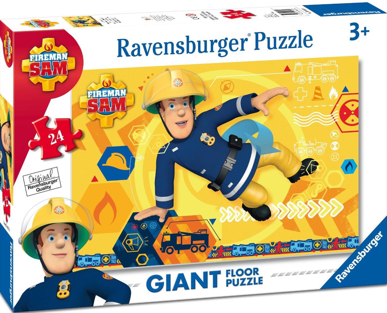 Puzzle Ravensburger El Bombero Sam de 24 Piezas