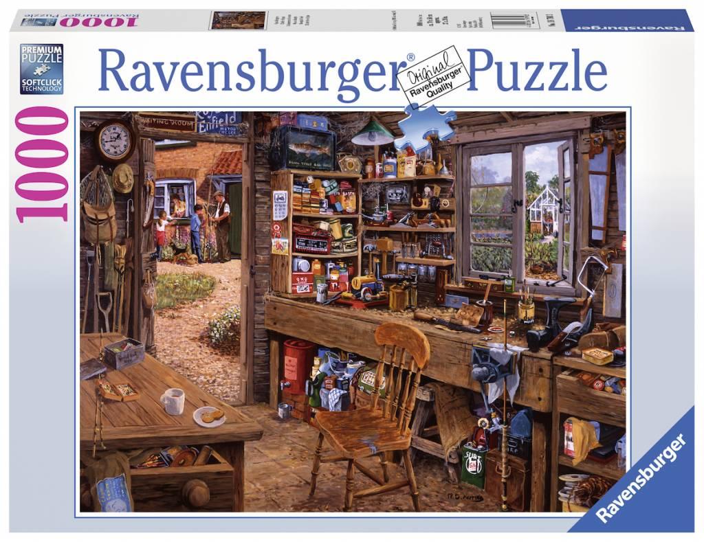 Puzzle Ravensburger El Cobertizo del Abuelo de 1000 Piezas