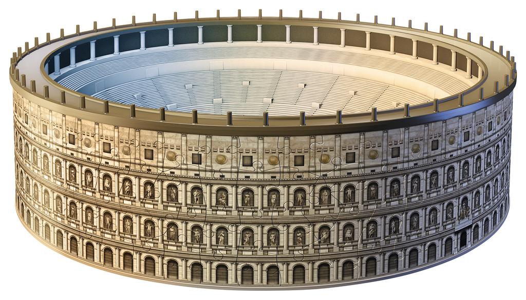 Puzzle Ravensburger El Coliseo de Roma 3D 3D 216 Piezas