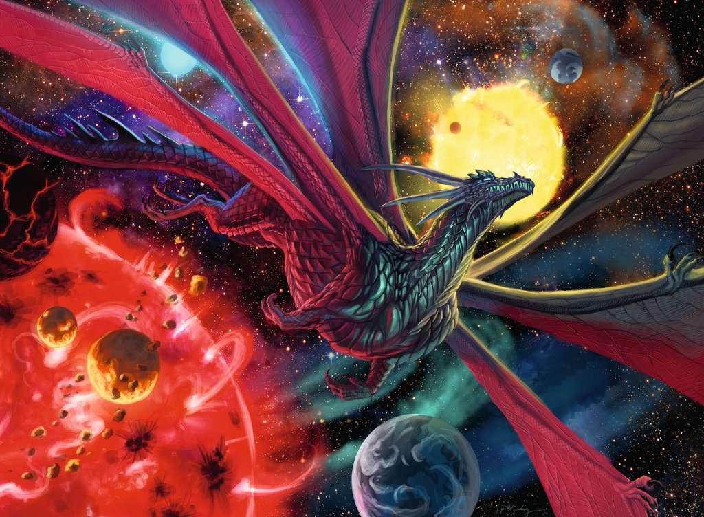 Puzzle Ravensburger El Dragón Estrella XXL 300 Piezas
