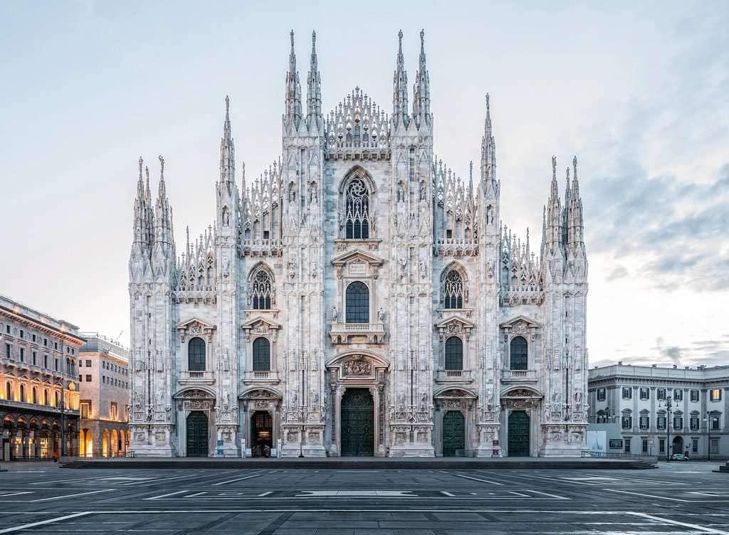 Puzzle Ravensburger El Duomo de Milán 1000 Piezas
