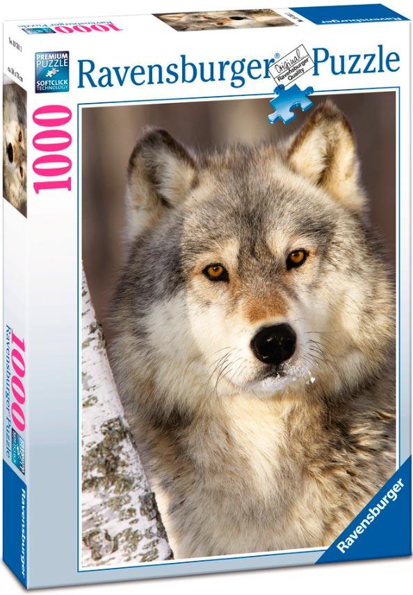 Puzzle Ravensburger El Lobo 1000 Piezas