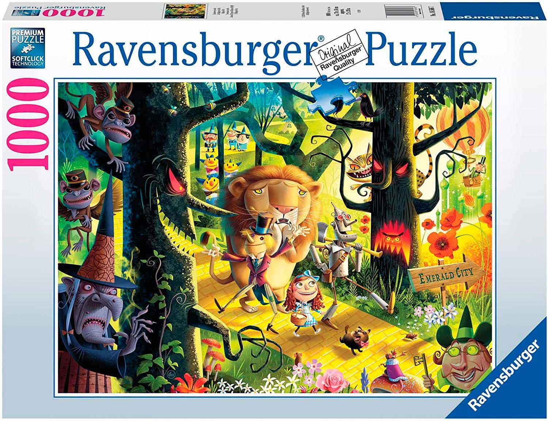 Puzzle Ravensburger El Mago de Oz de 1000 Piezas