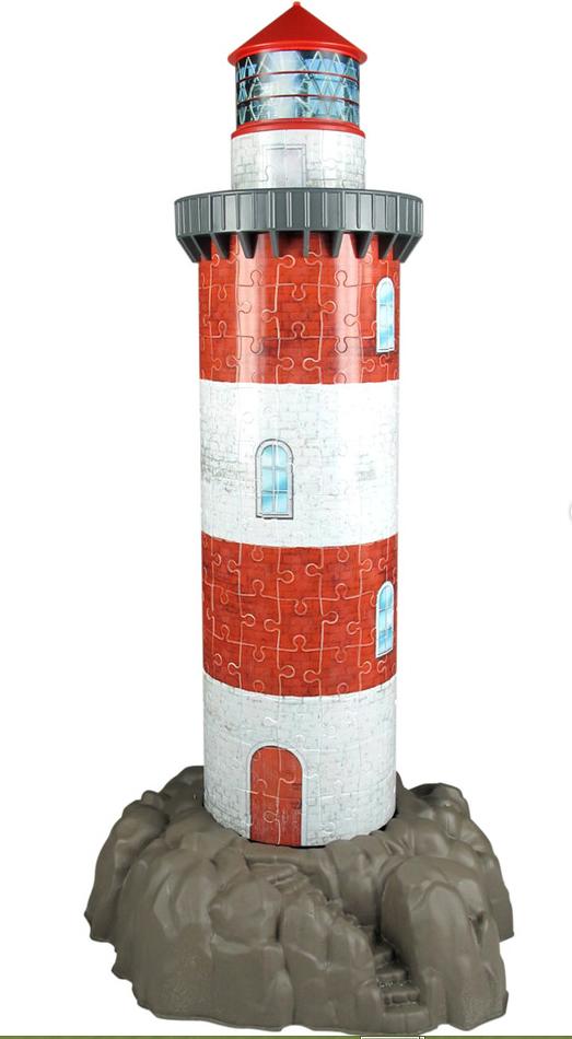 Puzzle Ravensburger El Nuevo Faro 3D 3D 216 Piezas