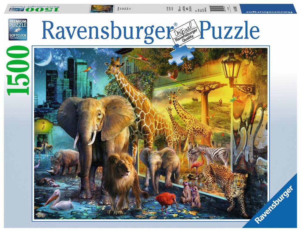 Puzzle Ravensburger El Portal de 1500 Piezas