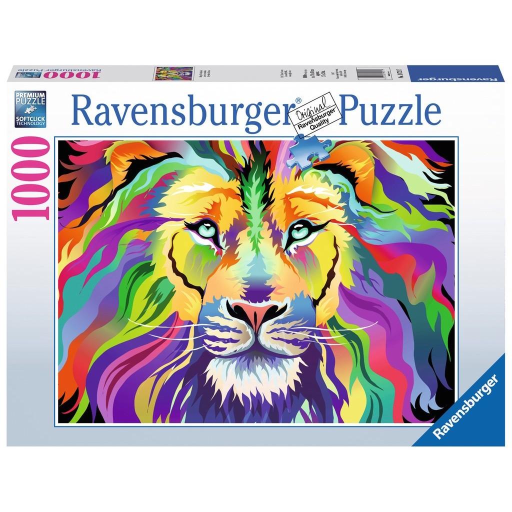 Puzzle Ravensburger El Rey de los Colores de 1000 Piezas