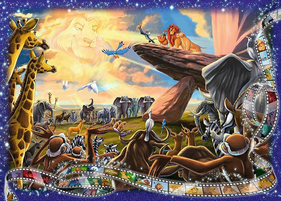 Puzzle Ravensburger El Rey León 1000 Piezas