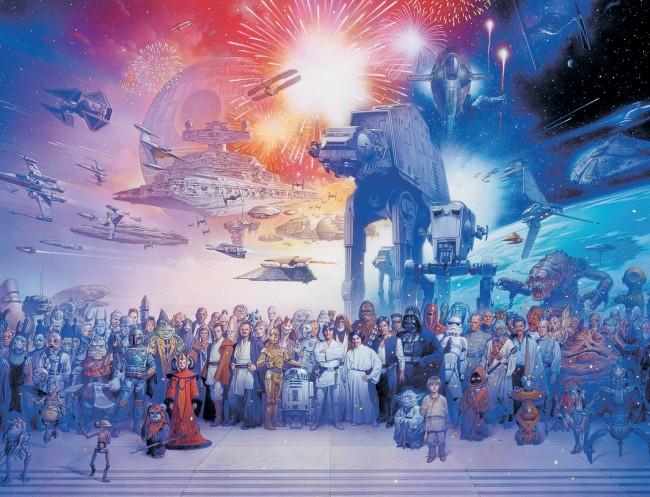 Puzzle Ravensburger El Universo Expandido de Star Wars de 2000 P