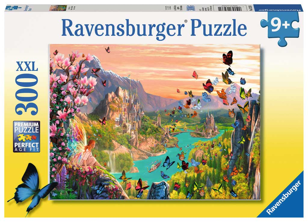 Puzzle Ravensburger El Valle de las Hadas de 300 Piezas