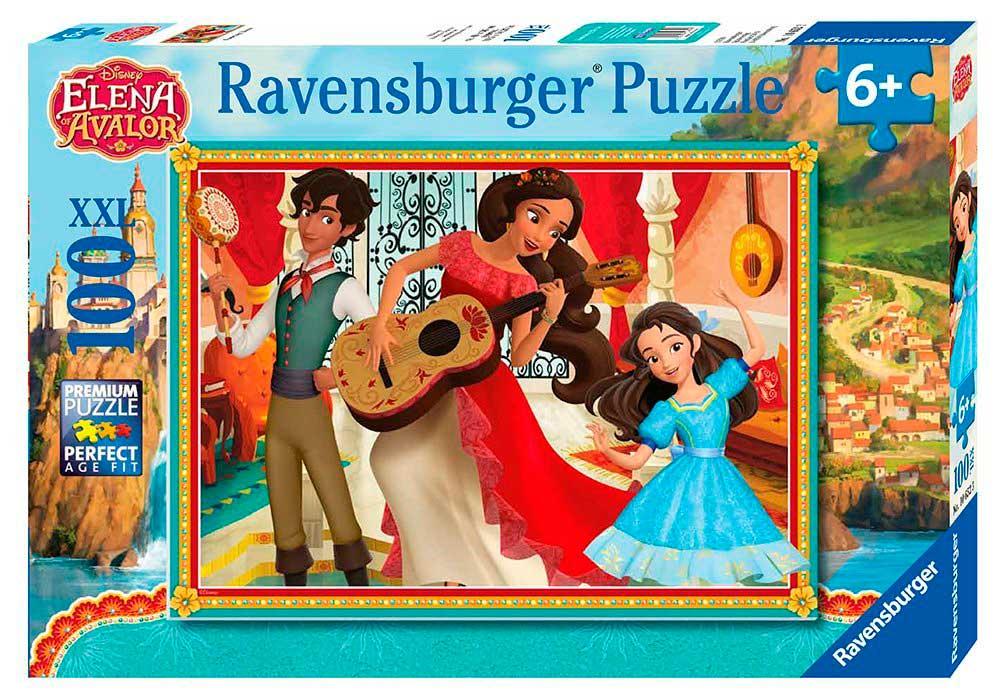 Puzzle Ravensburger Elena de Ávalor XXL de 100 Piezas