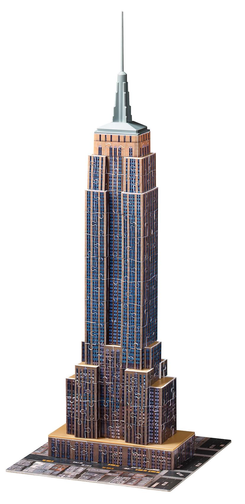 Puzzle Ravensburger Empire State Building 3D 3D 216 Piezas