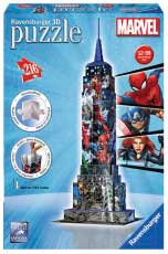 Puzzle Ravensburger Empire State Building Spiderman 3D 216 Pieza