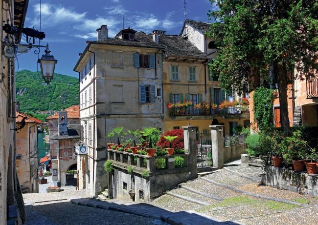 Puzzle Ravensburger En el Piamonte, Italia de 1000 Piezas