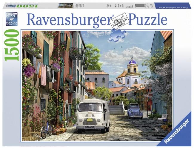 Puzzle Ravensburger En el Sur de Francia de 1500 Piezas