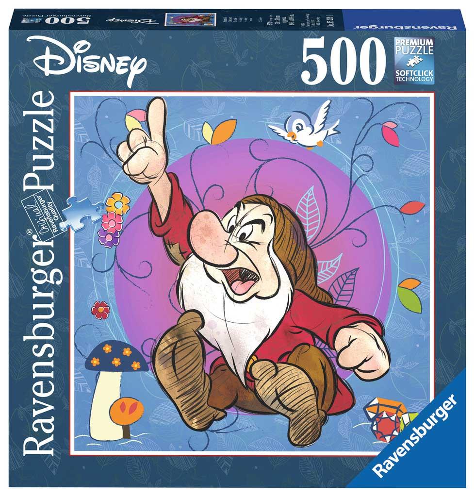 Puzzle Ravensburger Enanito Gruñon de 500 Piezas