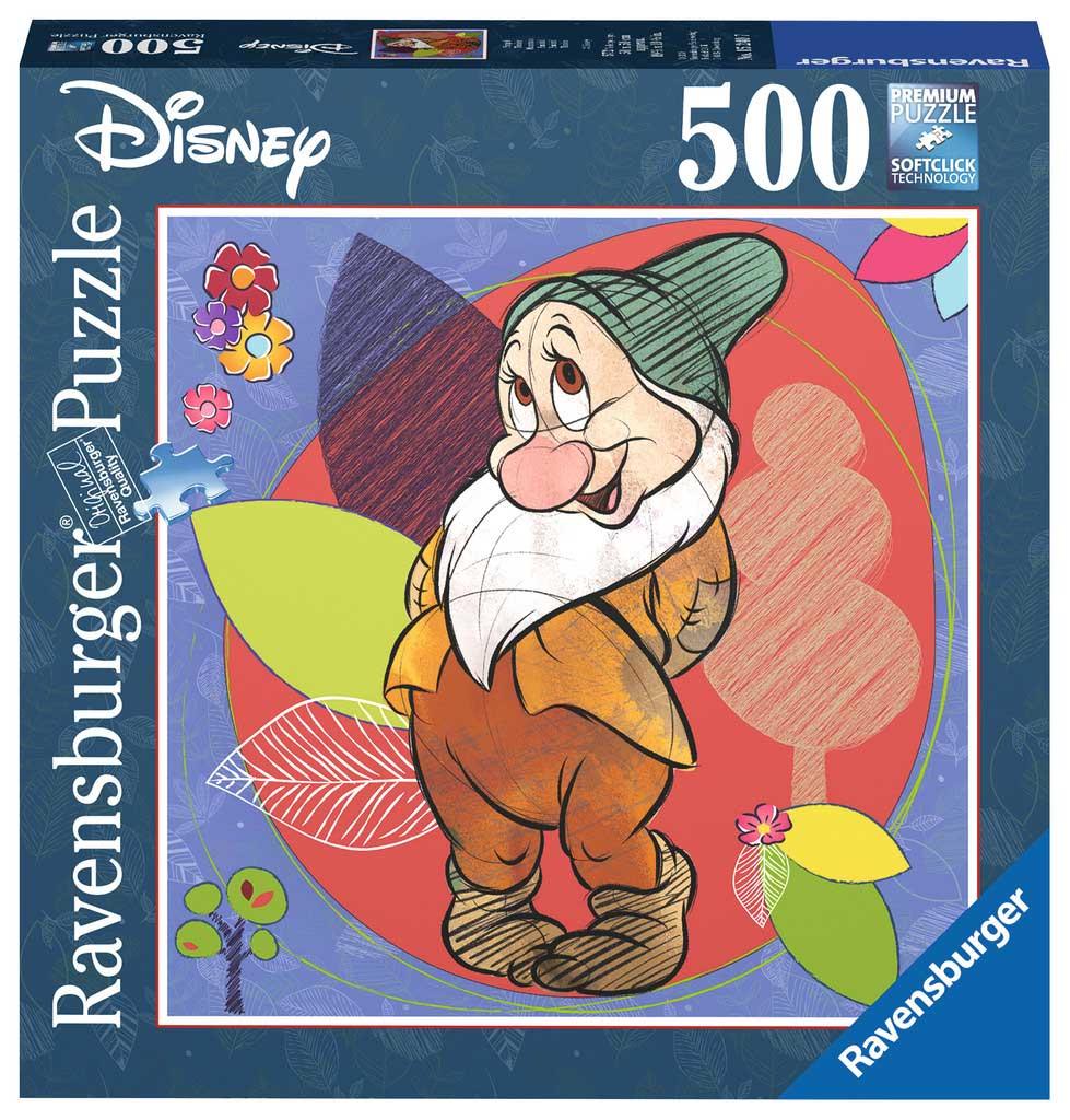 Puzzle Ravensburger Enanito Tímido de 500 Piezas
