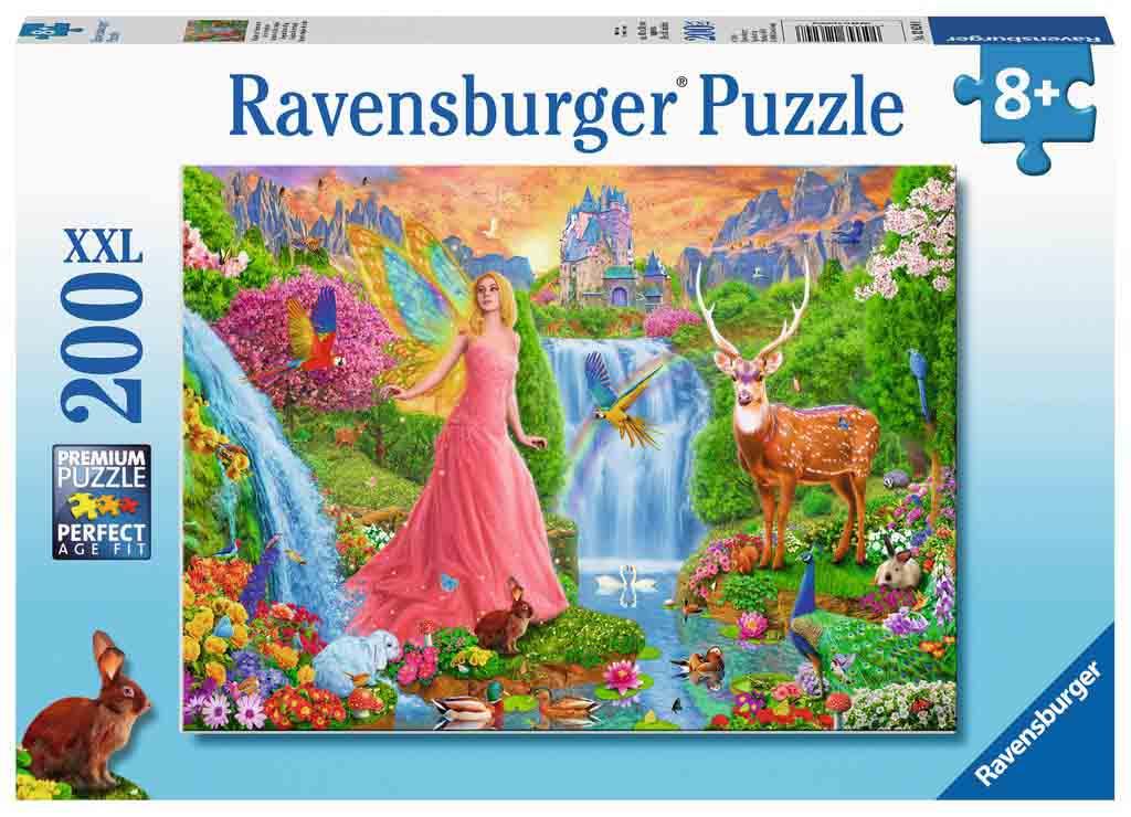 Puzzle Ravensburger Encanto Mágico de Hadas XXL de 200 Pzs