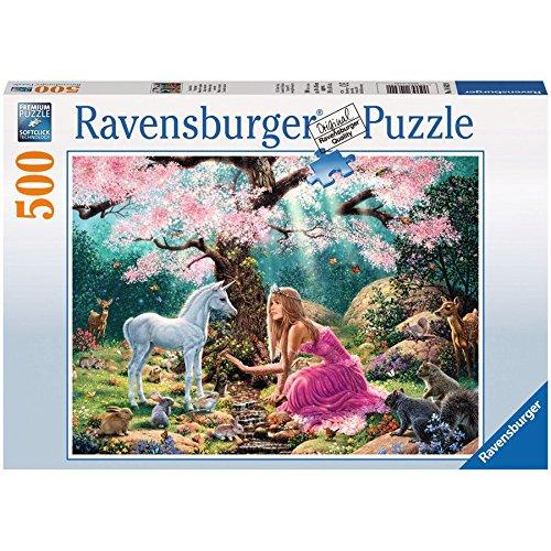 Puzzle Ravensburger Encuentro Mágico de 500 Piezas