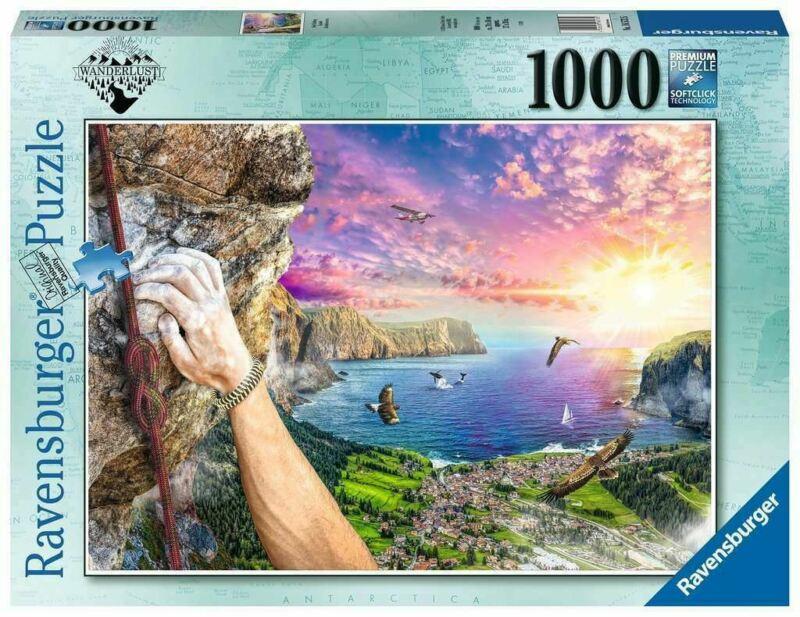 Puzzle Ravensburger Escalada de Roca de 1000 Piezas