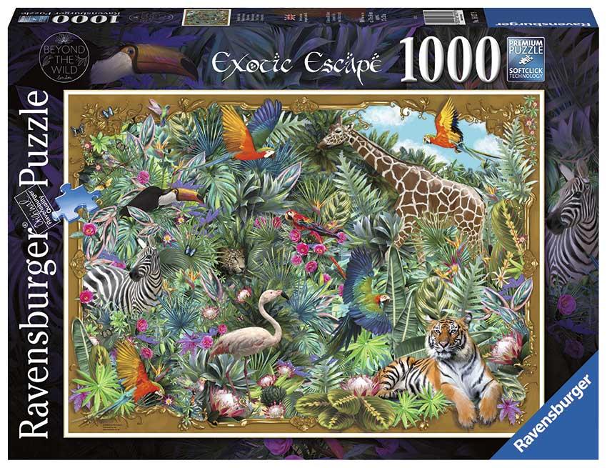Puzzle Ravensburger Escapada Exótica de 1000 Piezas