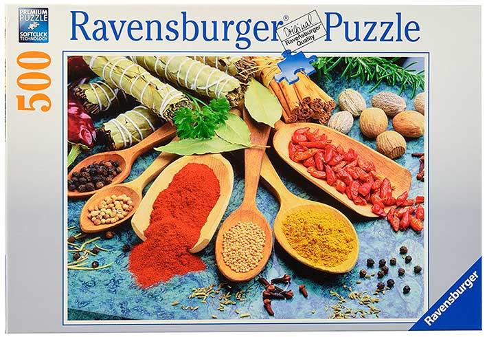 Puzzle Ravensburger Especias Coloridas de 500 Piezas