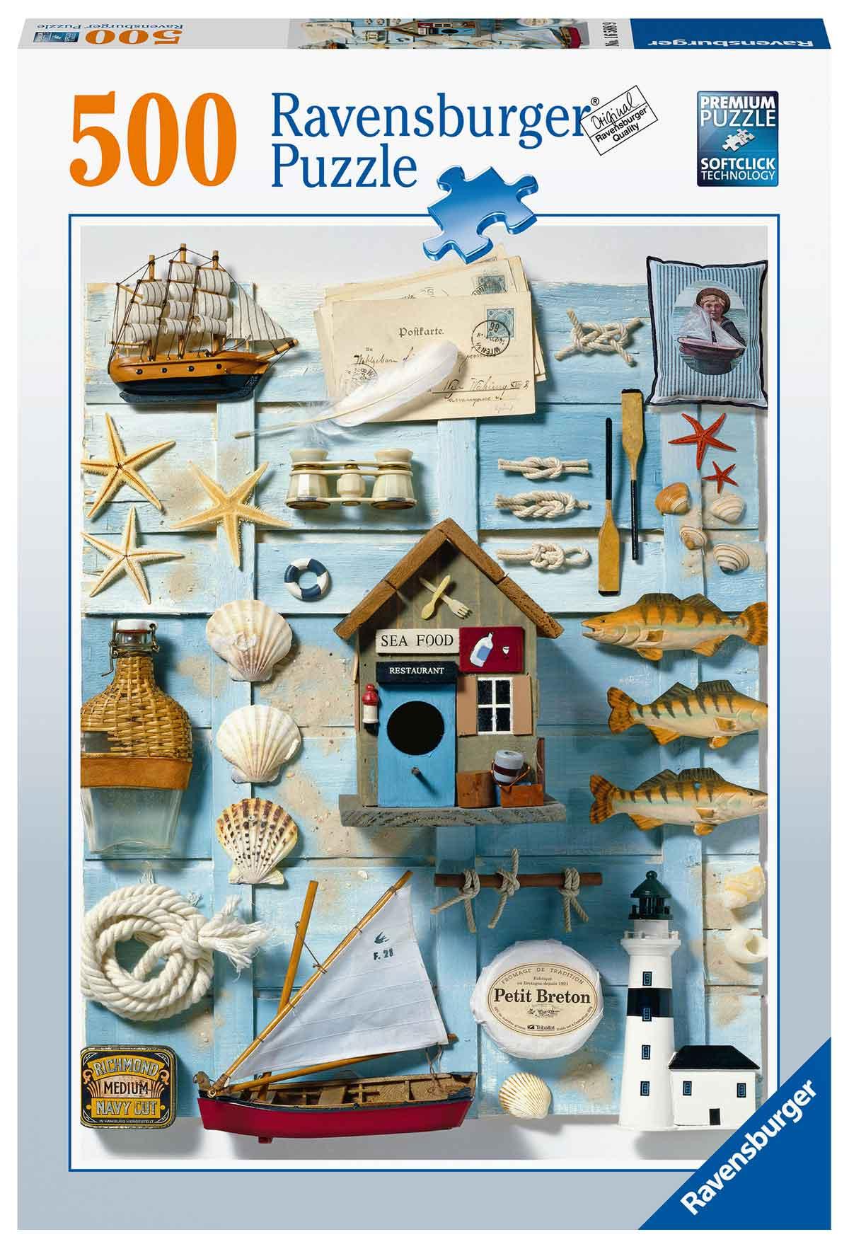 Puzzle Ravensburger Espíritu Marítimo de 500 Piezas