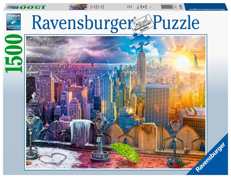 Puzzle Ravensburger Estaciones de Nueva York de 1500 Piezas