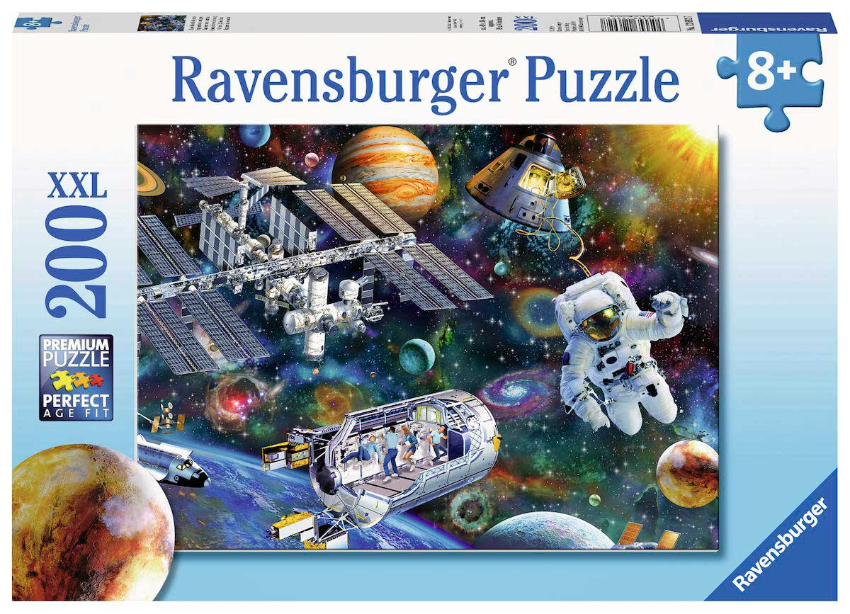 Puzzle Ravensburger Exploración Cósmica XXL de 200 Pzs