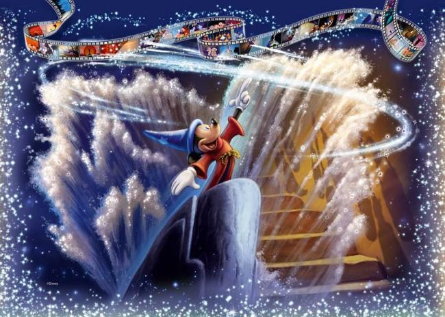 Puzzle Ravensburger Fantasía Disney, Mickey Mouse 1000 Piezas