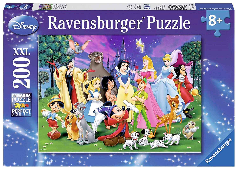 Puzzle Ravensburger Favoritos Disney XXL de 200 Piezas