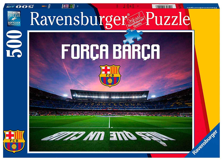 Puzzle Ravensburger FC Barcelona 500 Piezas