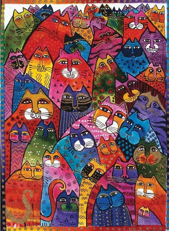 Puzzle Ravensburger Felinos Fantásticos 1000 Piezas