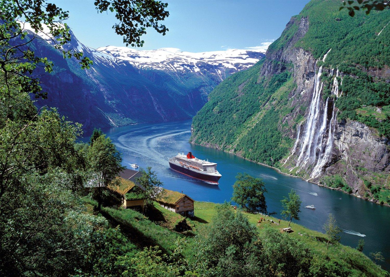 Puzzle Ravensburger Fiordo Noruego de 1000 Piezas